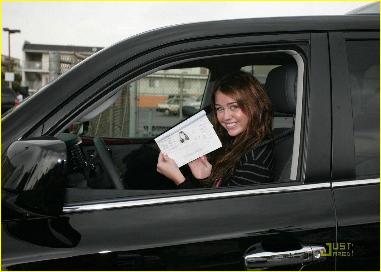 miley cyrus learners permit 06