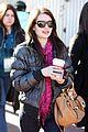 emma roberts pink scarf sundance 18
