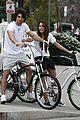 miley cyrus justin gaston bike ride 13