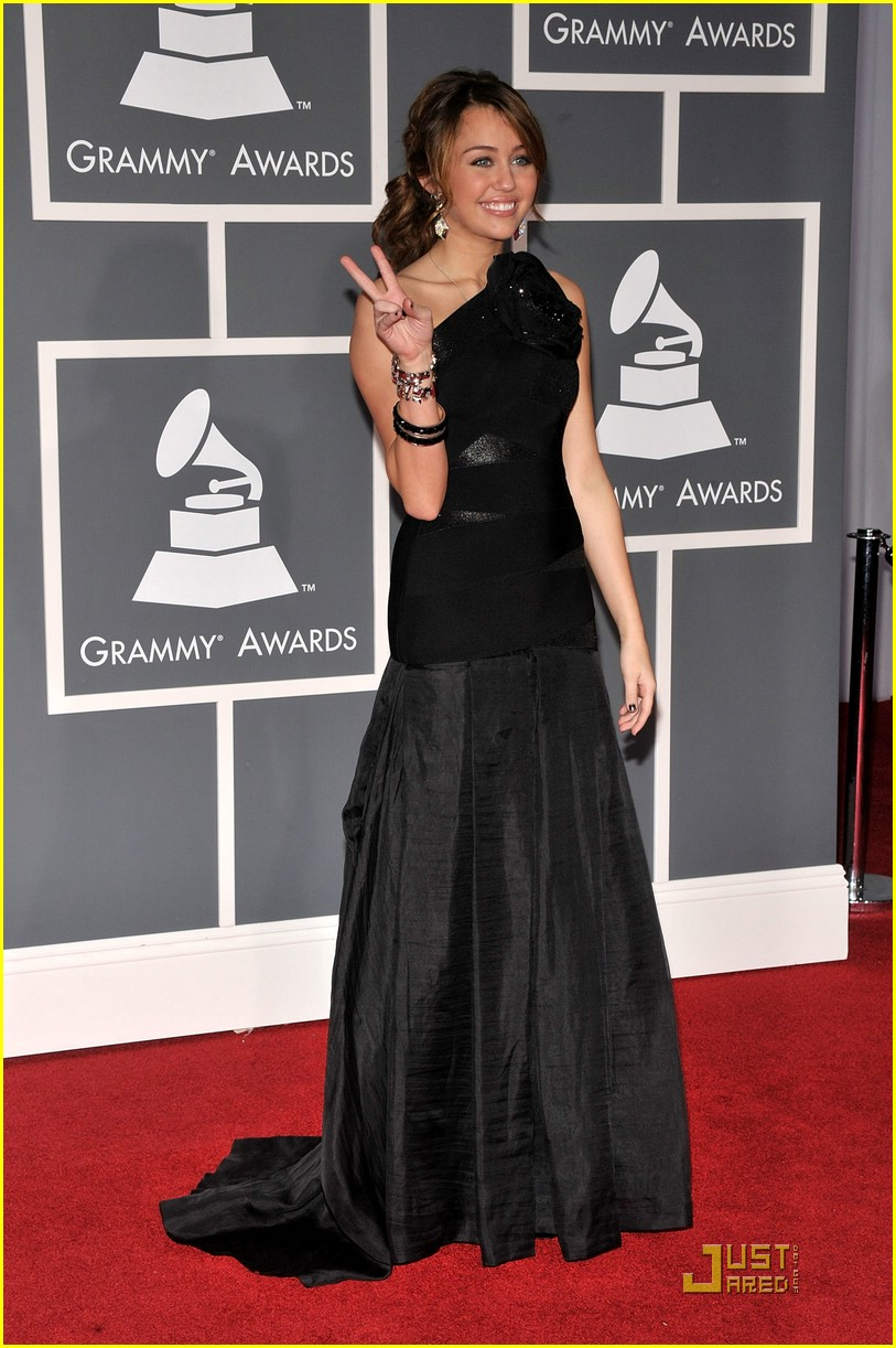 miley cyrus grammy awards 08