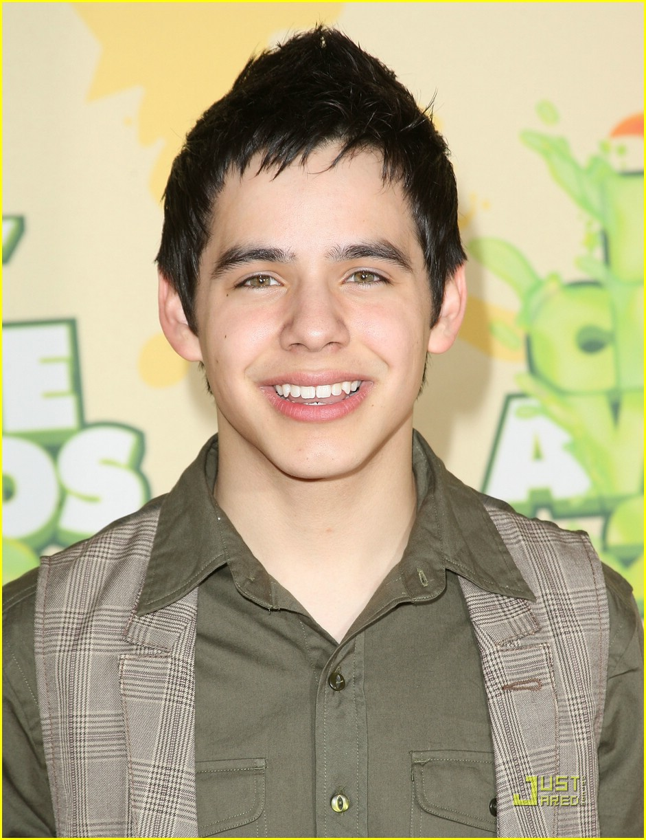 david archuleta kids choice 01