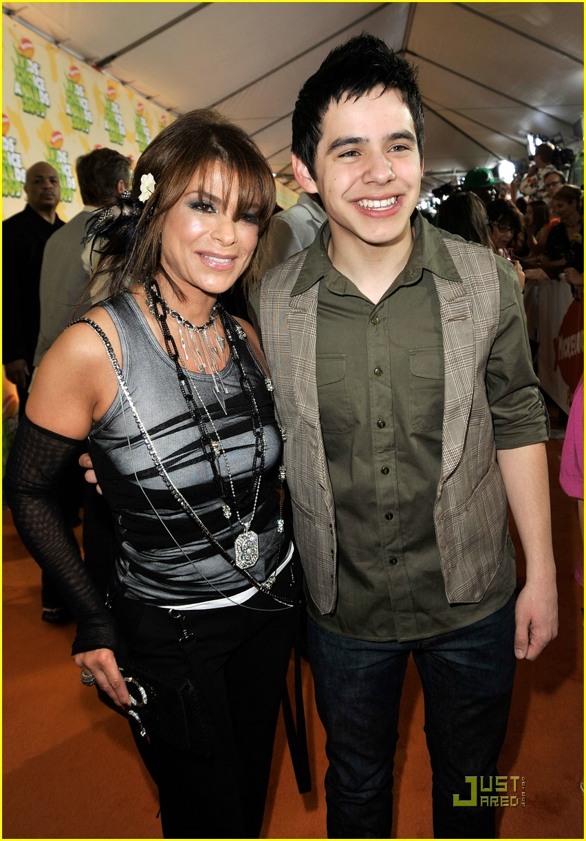 david archuleta kids choice 07