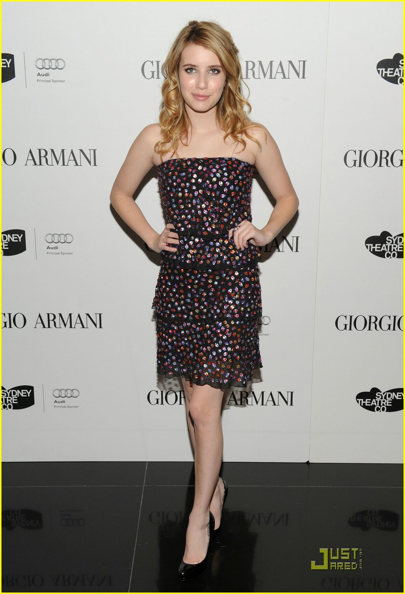 emma roberts welcome sydney theater 09