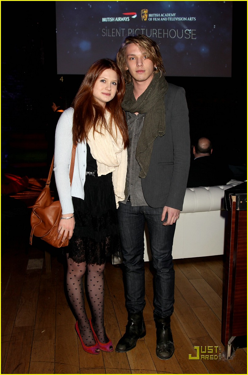 Bonnie Wright & Jamie Campbell-Bower: Prada Pair | Photo ...