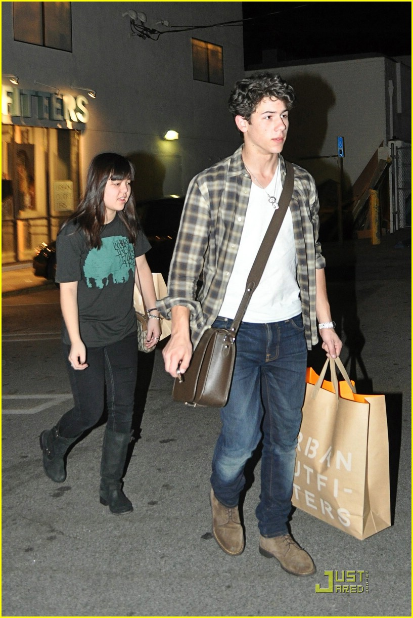 Nick jonas shops urban outfitters photo