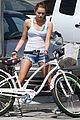 miley cyrus liam hemsworth biking 27