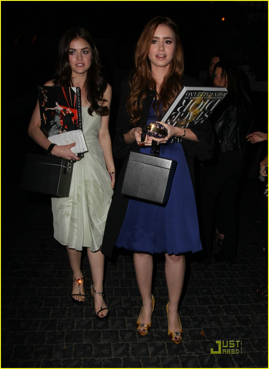 lily collins lucy hale dior 02