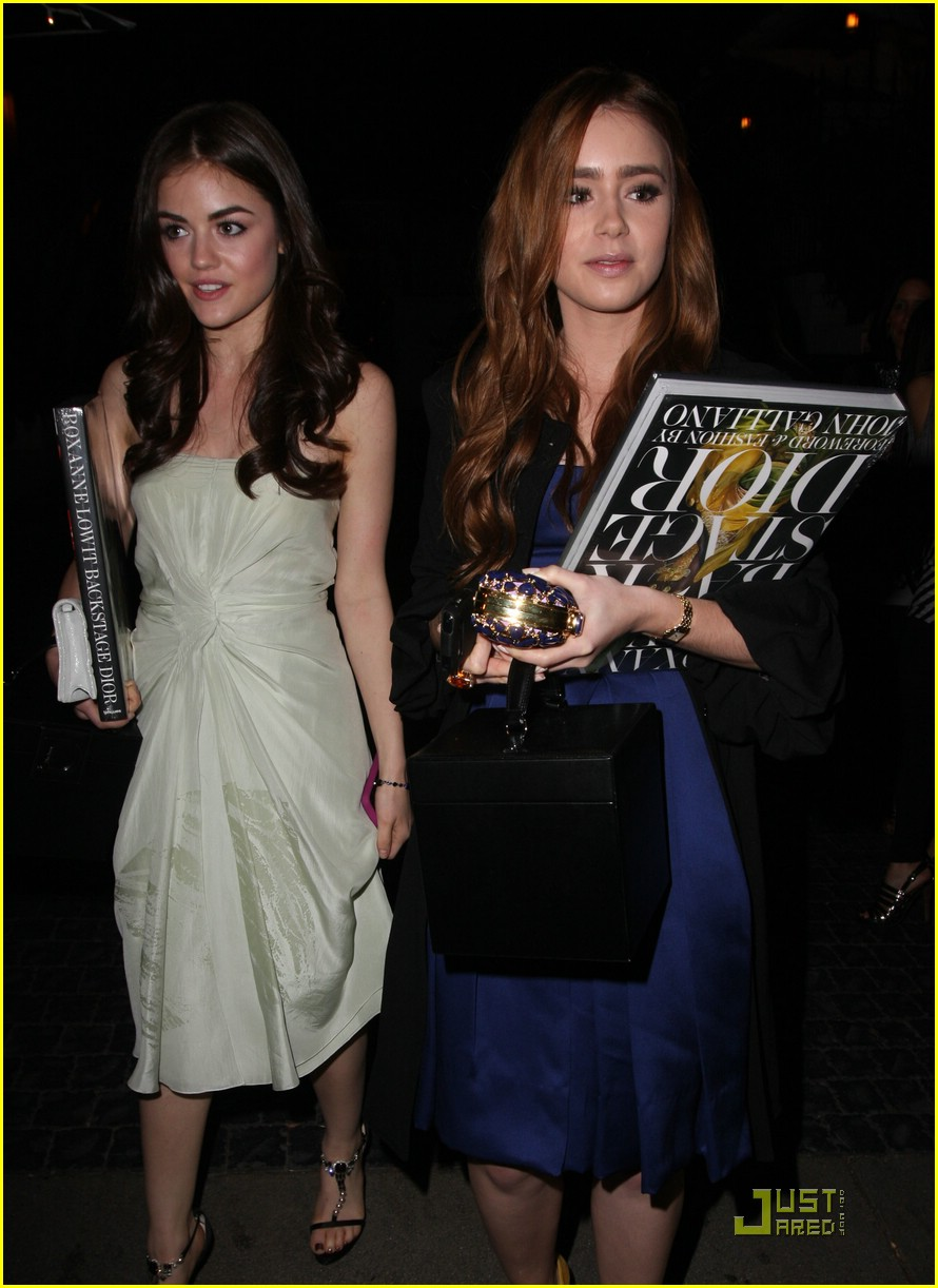lily collins lucy hale dior 07