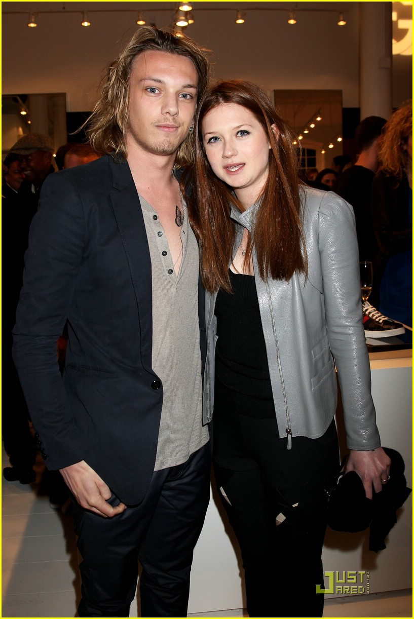 Bonnie Wright & Jamie Campbell Bower: Gucci Icon Temporary ...