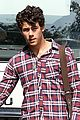 nick jonas plaid person 01