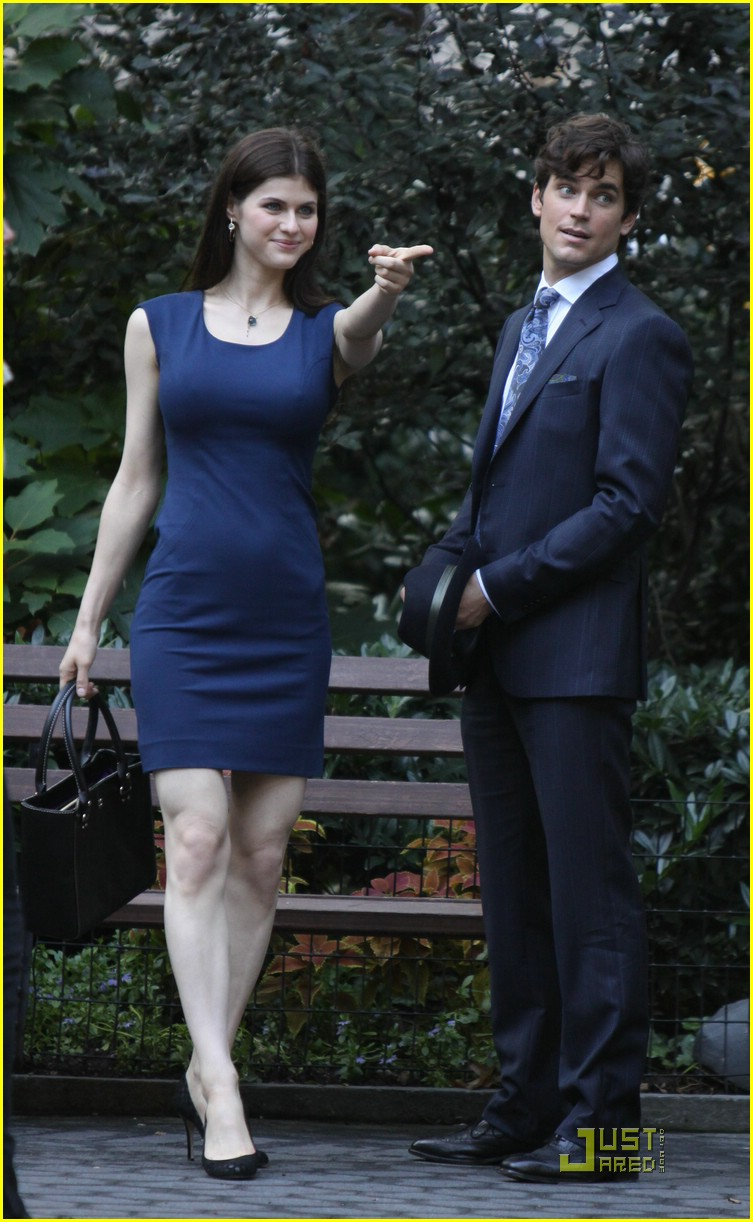Alexandra Daddario And Matt Bomer