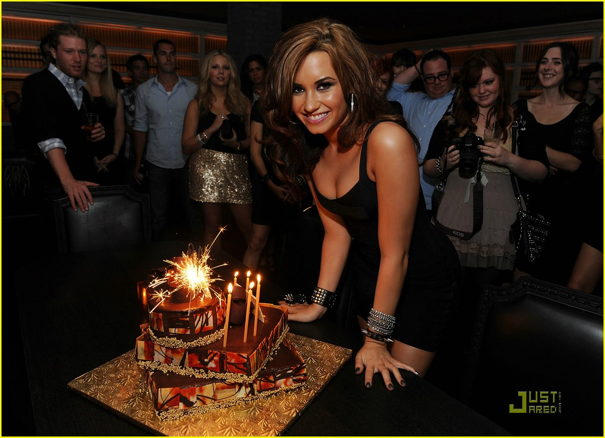 Demi Lovato Bday Celebration