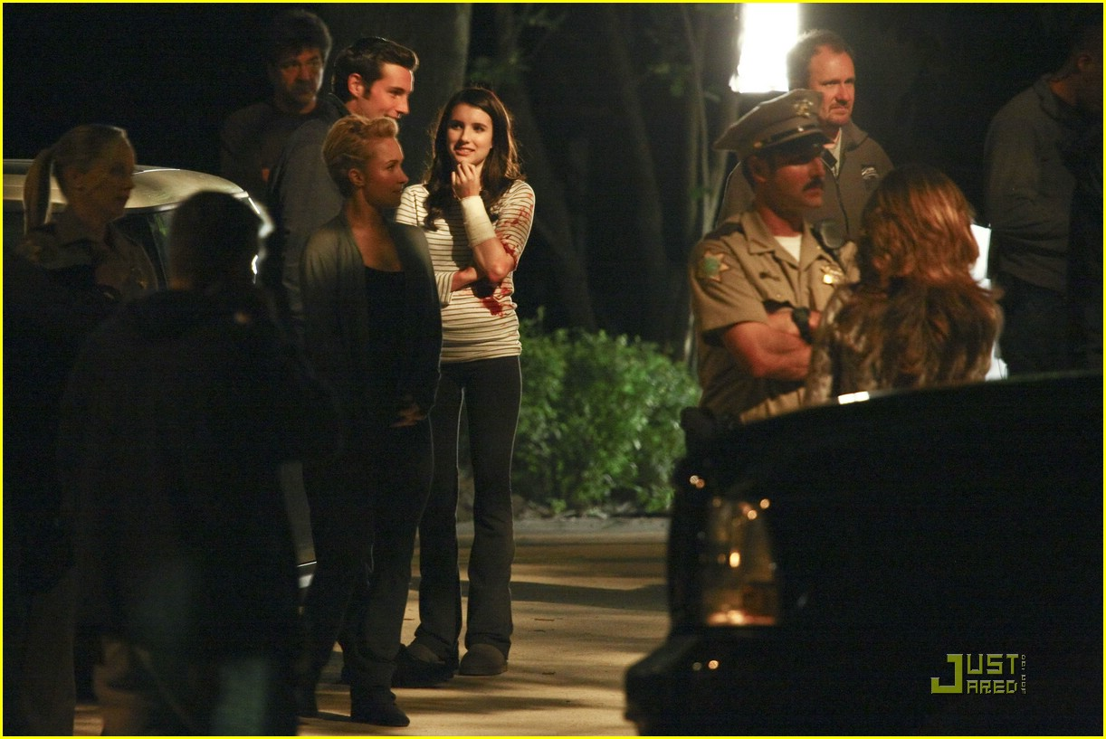 emma roberts late night shoot 13