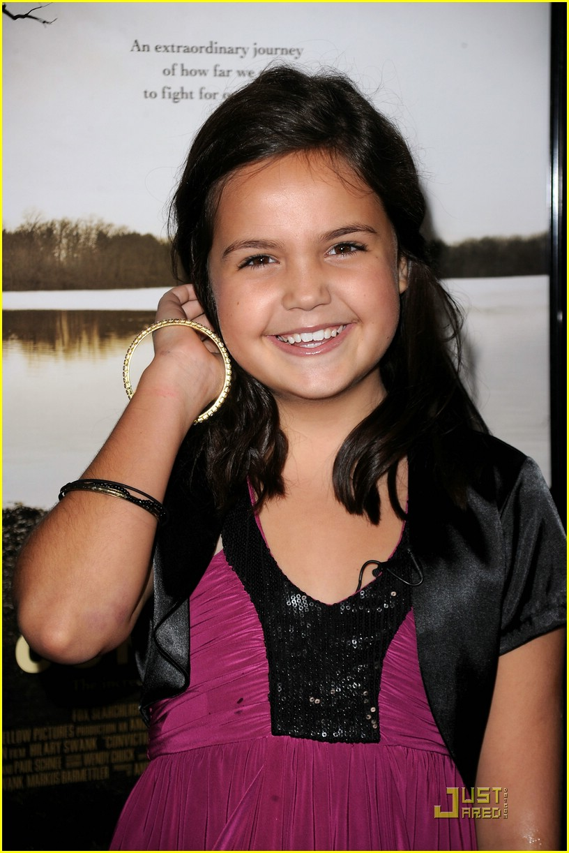 bailee madison conviction premiere 08