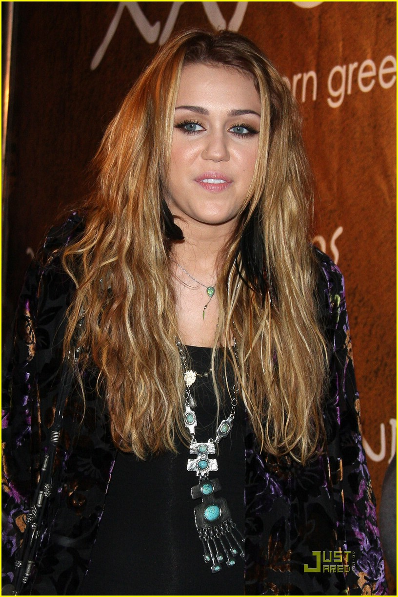 Miley Cyrus Goes Greek For Xandros | Photo 389146 - Photo ...