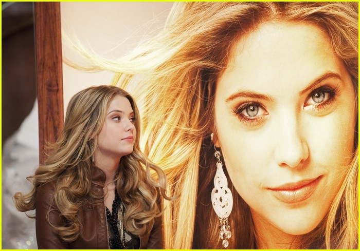Christmas Cupid.Ashley Benson In Christmas Cupid First Look Photo