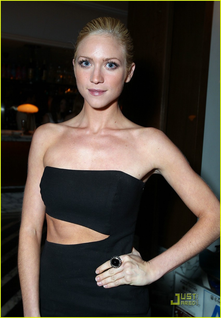 brittany snow golden globe party 06