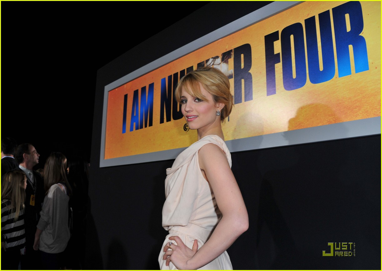 dianna agron: 'i am number four' premiere! | photo 403857 - photo