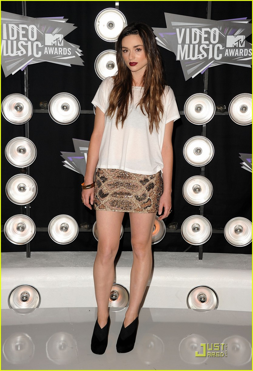 crystal reed holland roden vmas 09