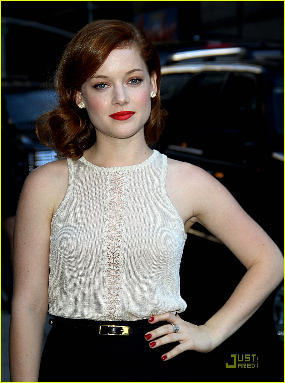 Jane Levy Dolls Up For Letterman Photo 444269 Photo
