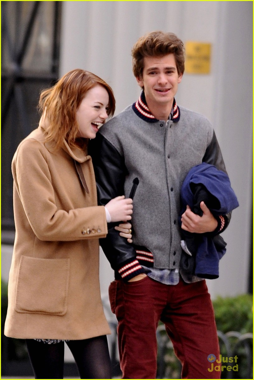 Emma Stone Andrew Garfield East Village Walkers Photo 449034