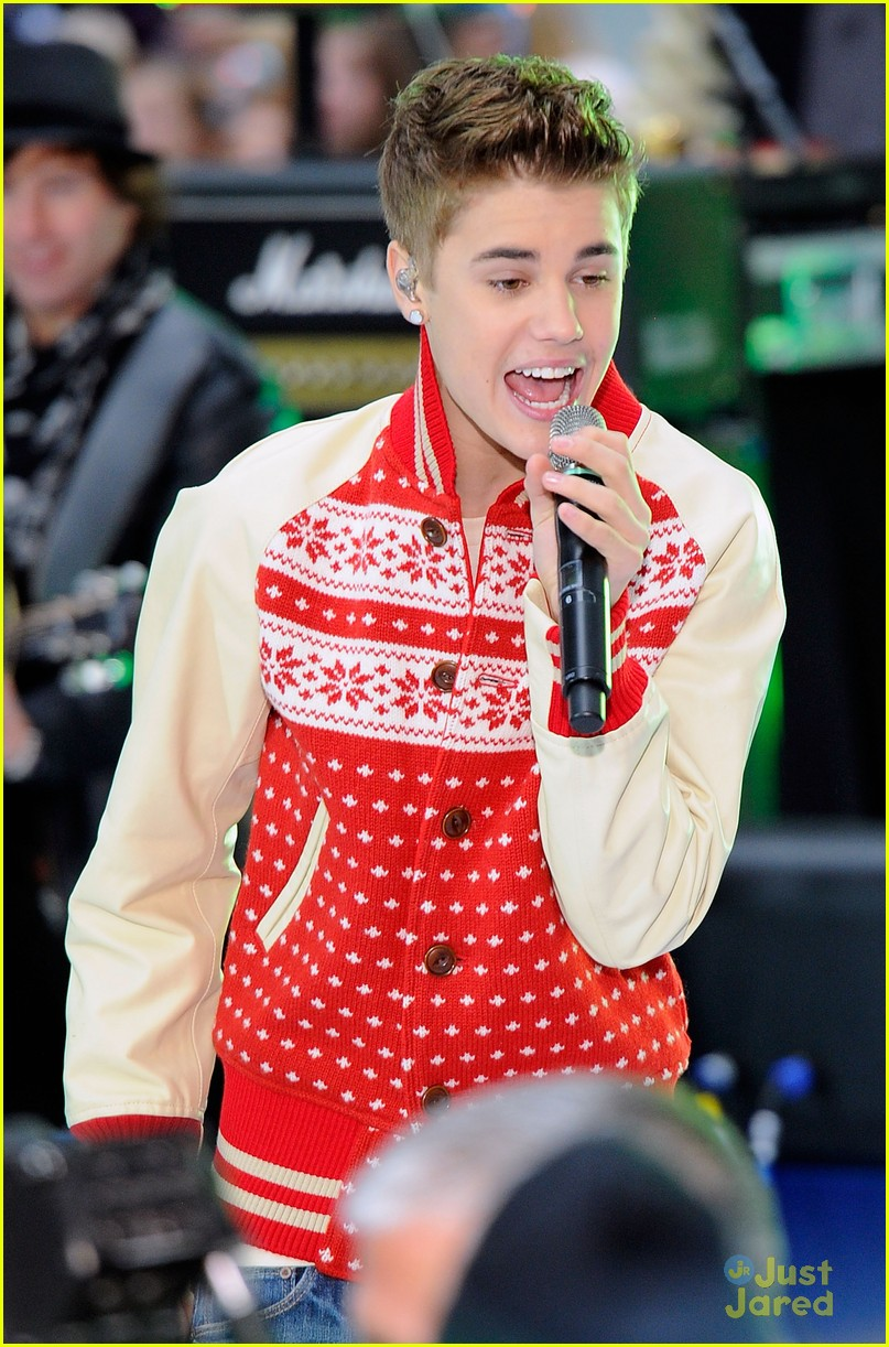 justin bieber today show 07