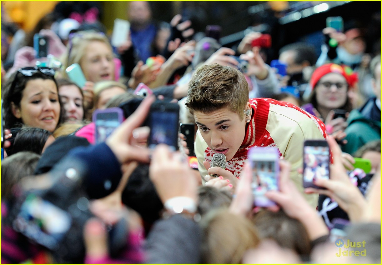 justin bieber today show 08