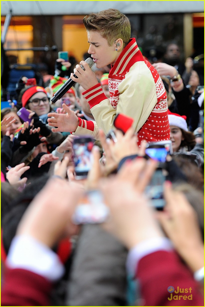 justin bieber today show 09