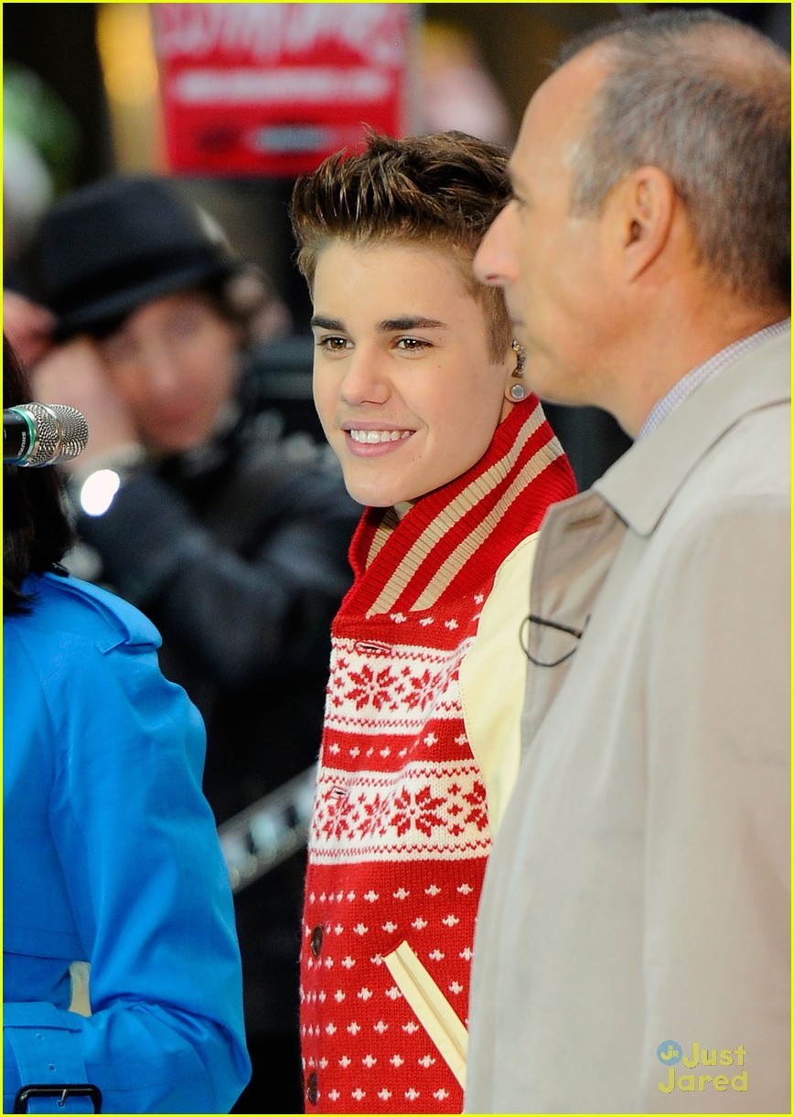 justin bieber today show 17