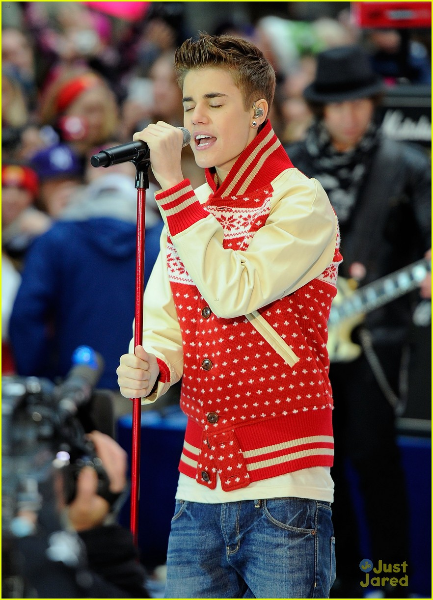 justin bieber today show 18