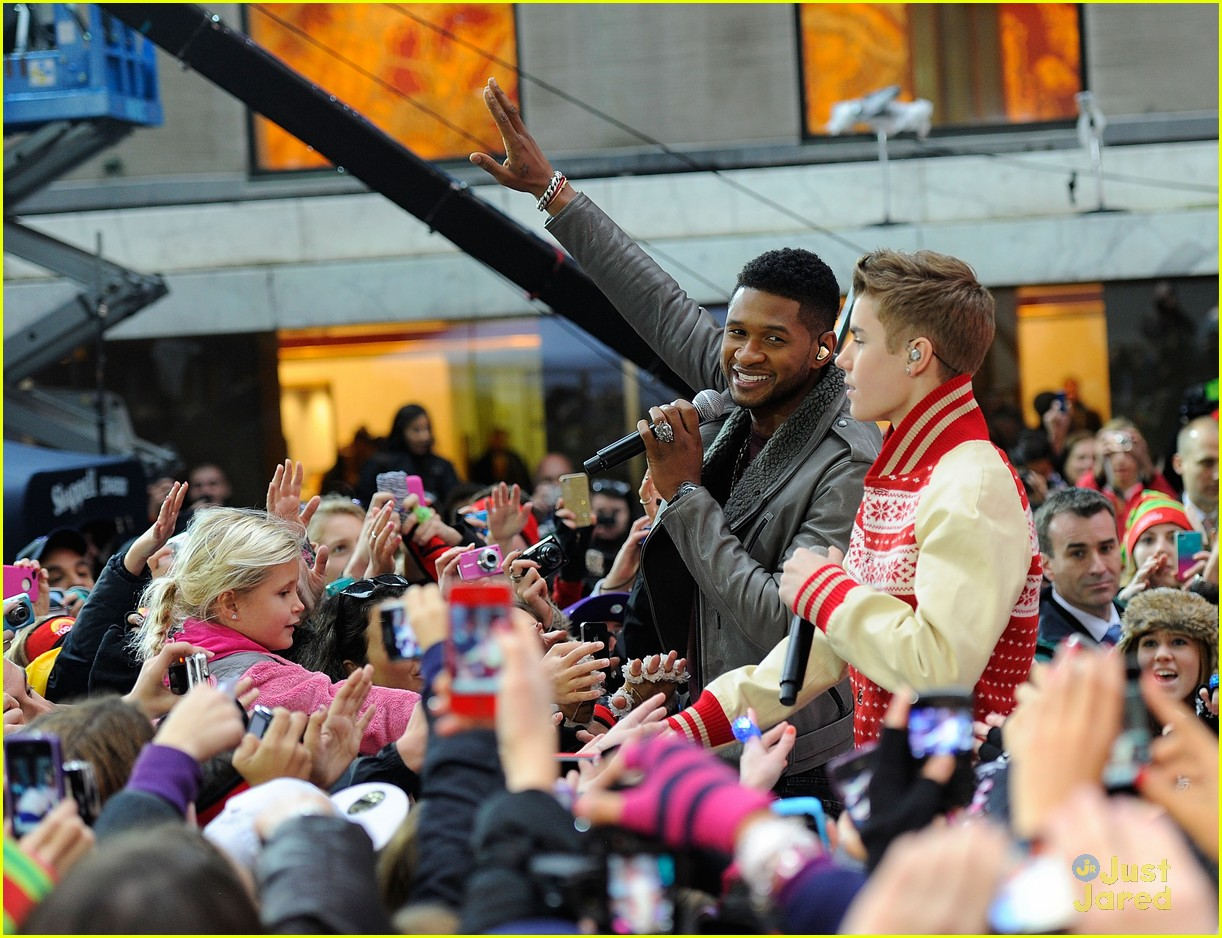 justin bieber today show 19