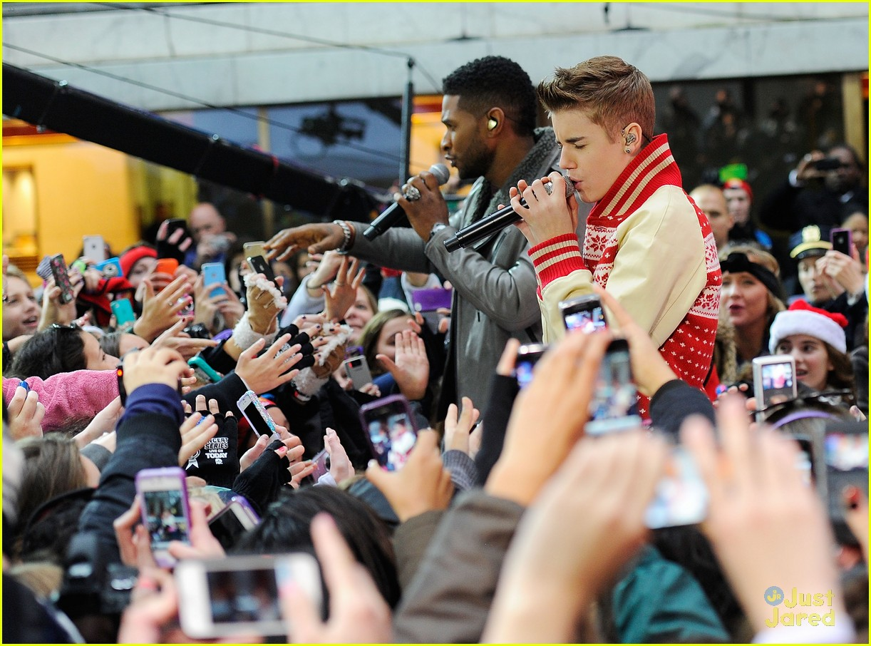 justin bieber today show 20