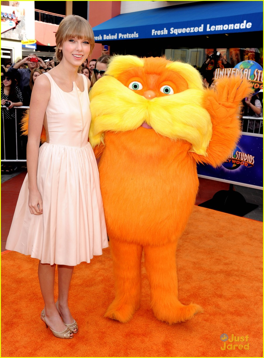 taylor swift lorax premiere 10