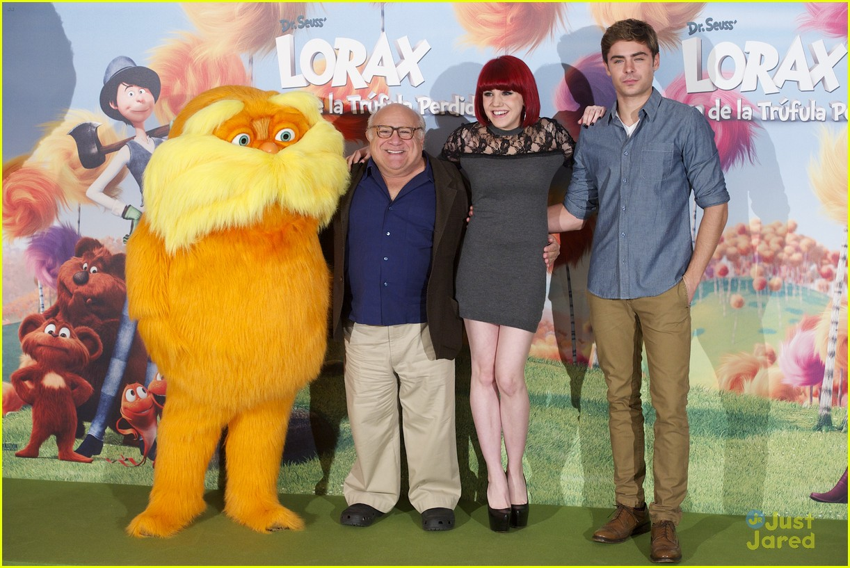 The Lorax Cast >> Zac Efron The Lorax Photo Call In Madrid Photo 463232