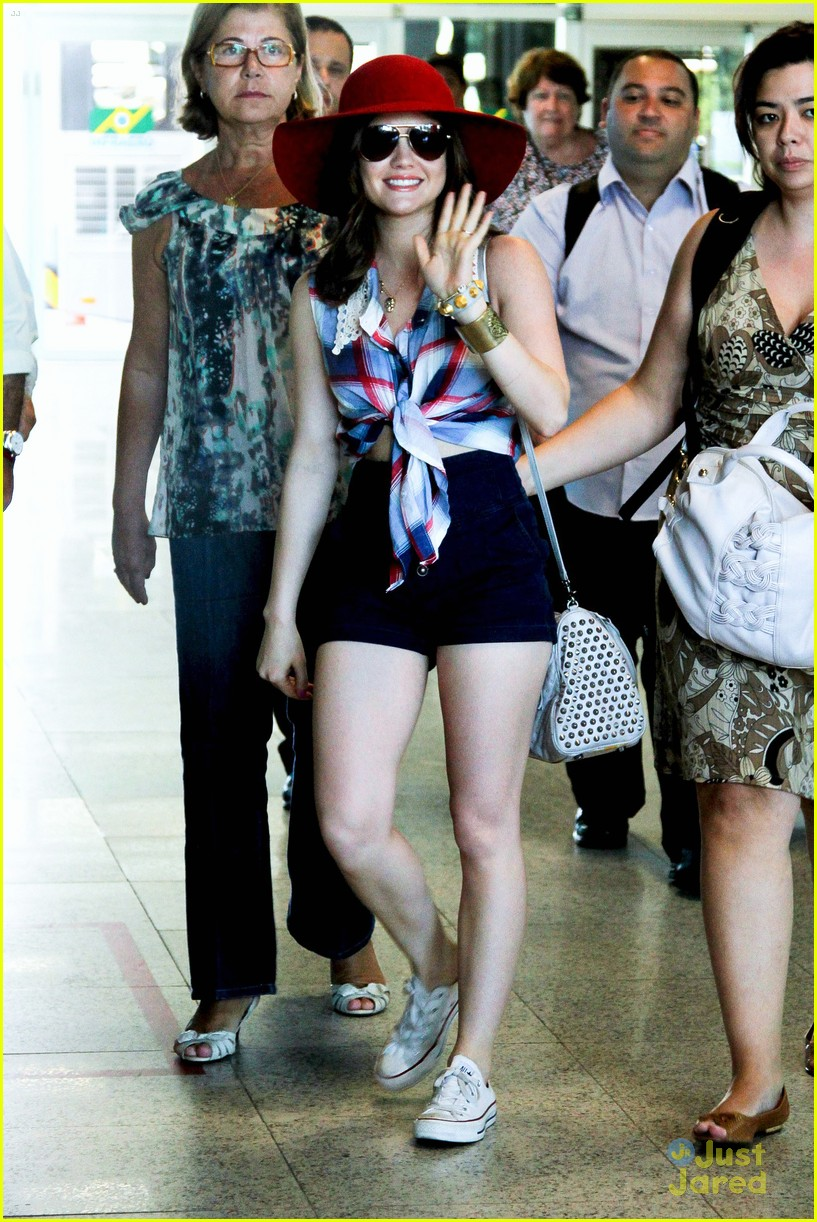 lucy hale shay mitchell bye brazil 01