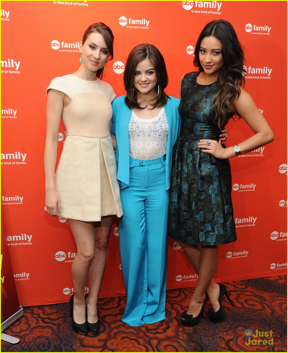 troian lucy shay gma upfronts 07