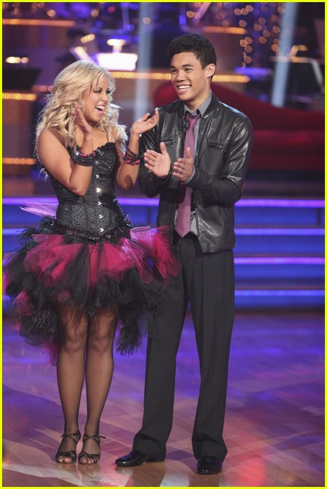 roshon fegan dwts night one 01