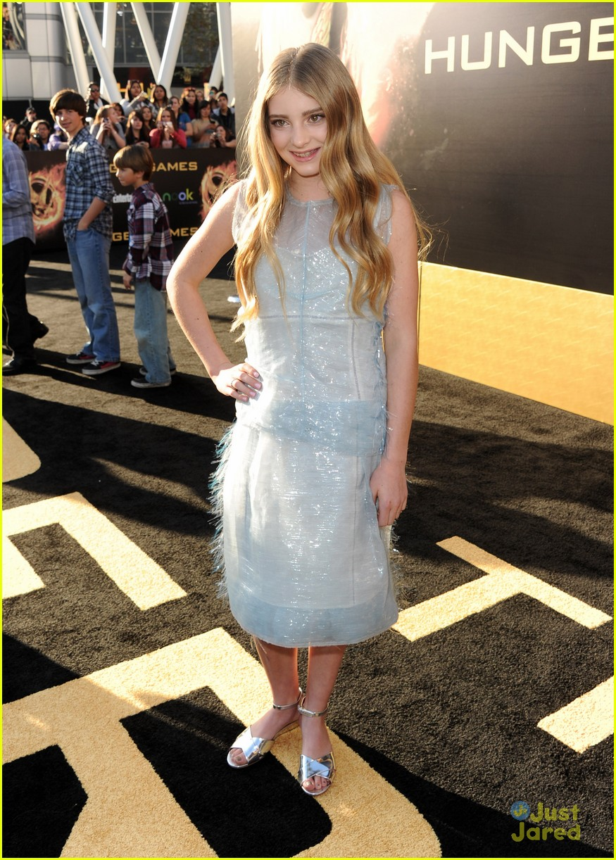 Willow Shields The Hunger Games Premiere Photo 463821