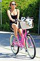 miley cyrus pilates bike ride 06