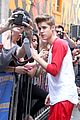 justin bieber letterman nyc 04