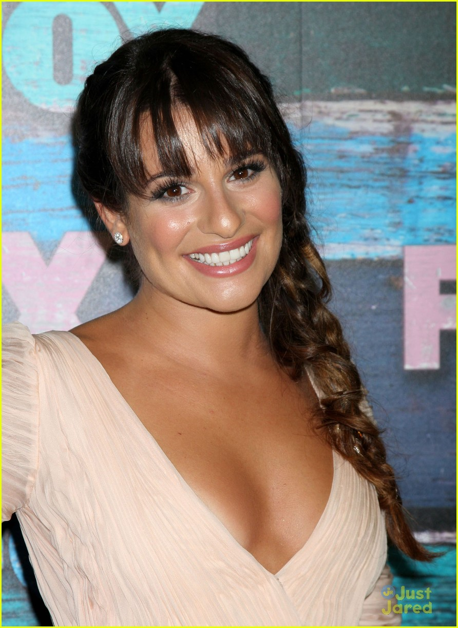 lea michele fox allstar party 12