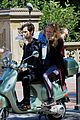 blake lively penn badgley vespa 20