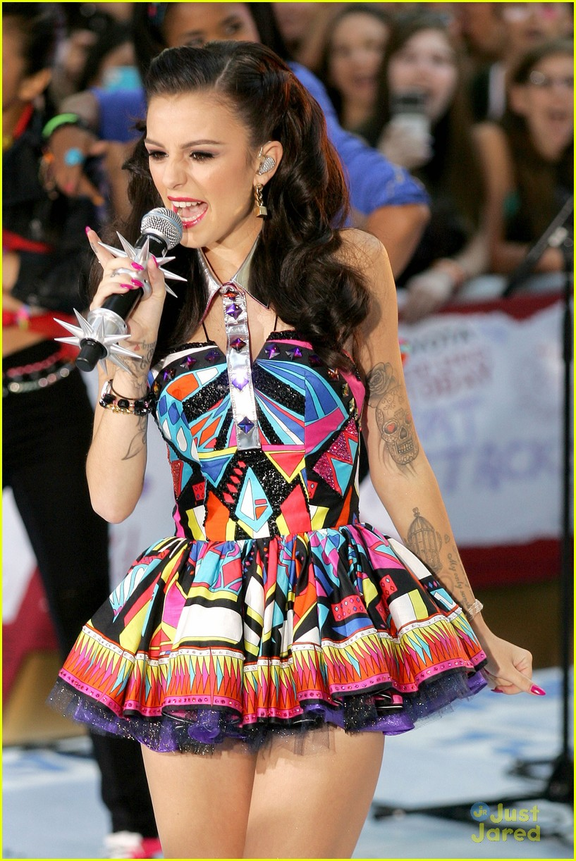 cher lloyd today show 06