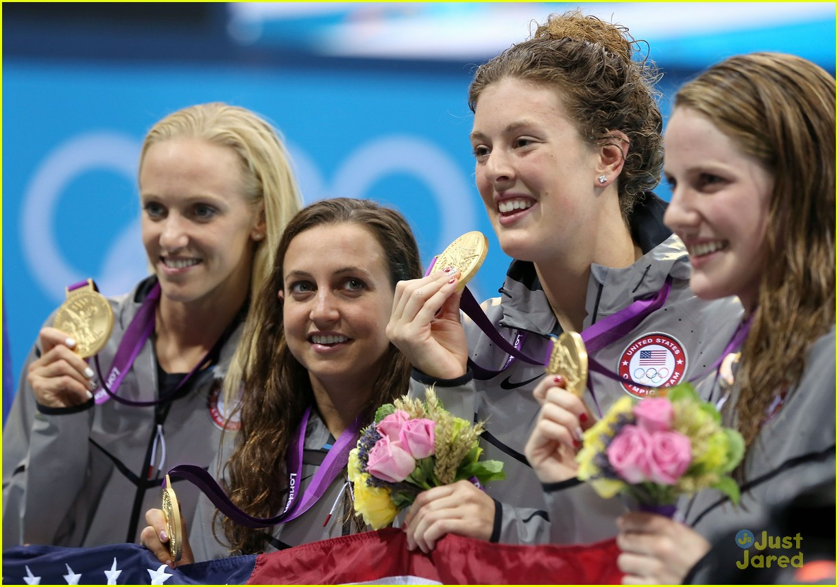 missy franklin olympics relay record 07