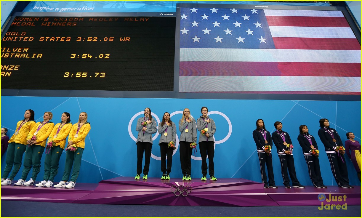 missy franklin olympics relay record 10