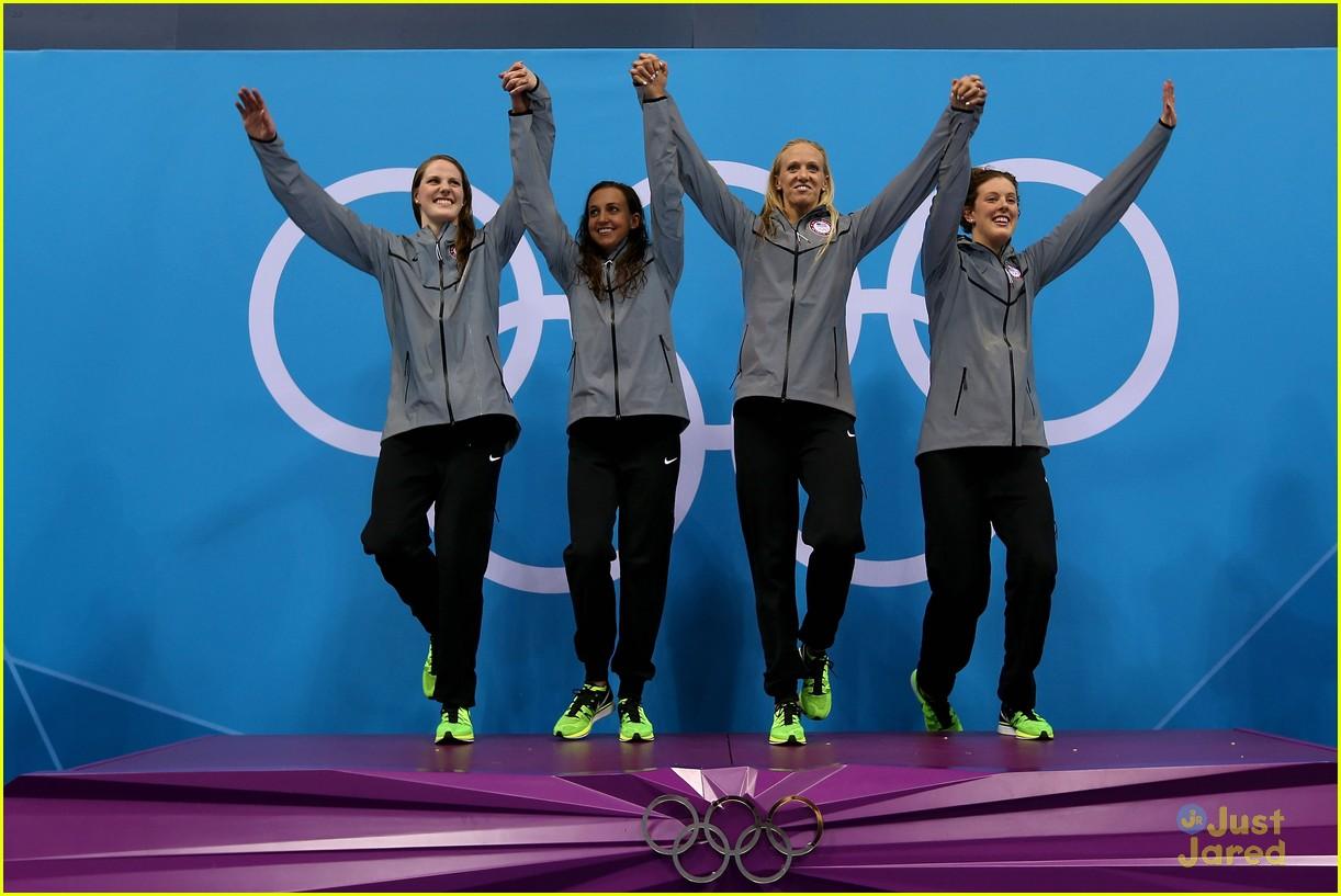 missy franklin olympics relay record 11