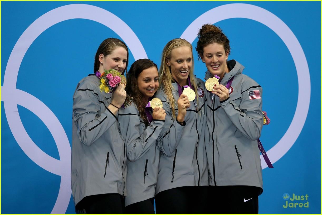 missy franklin olympics relay record 15