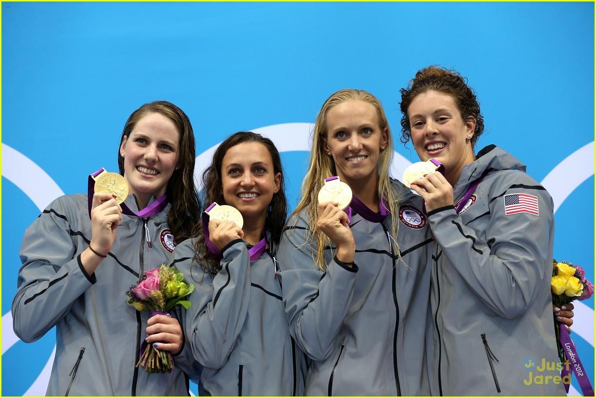 missy franklin olympics relay record 20