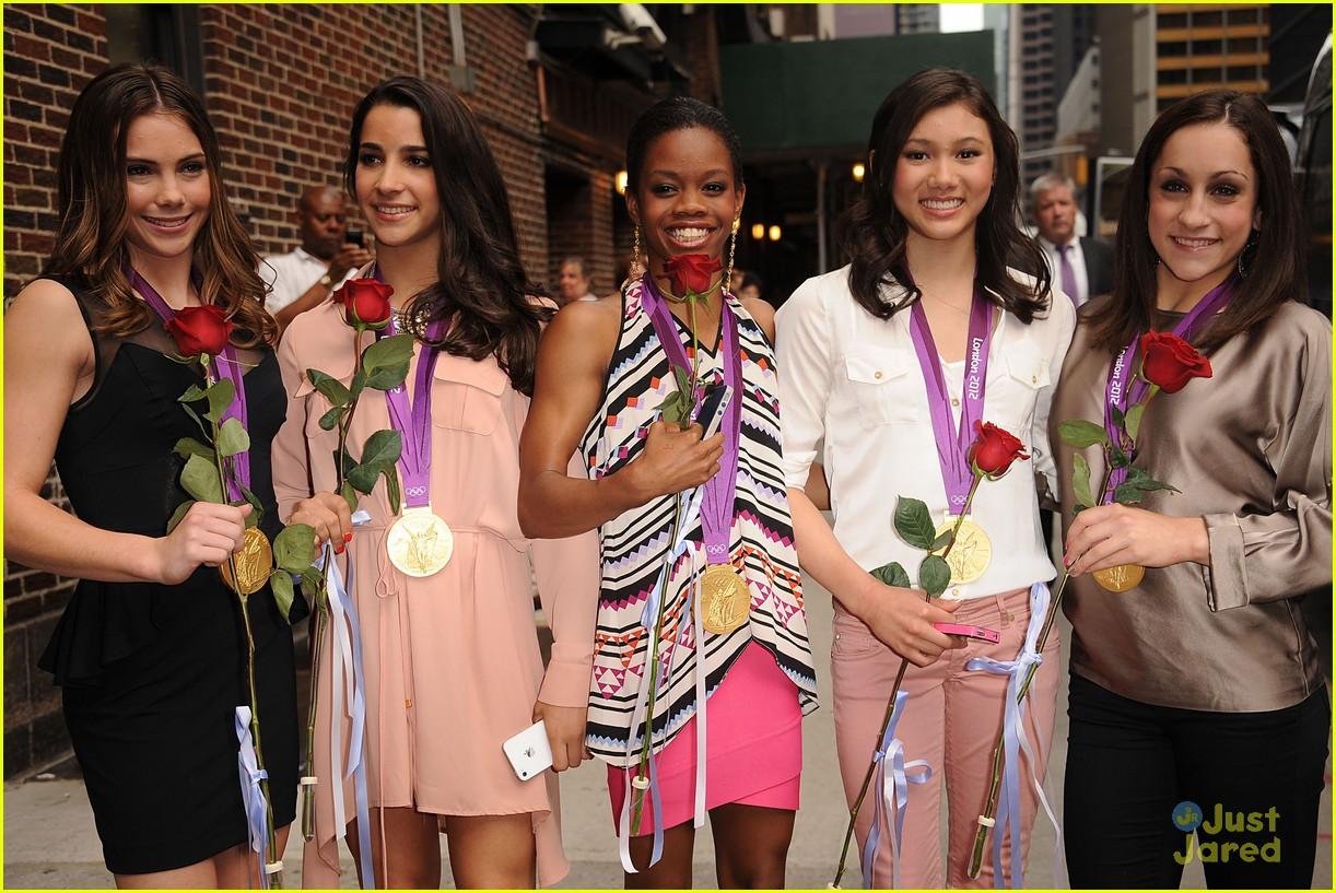 fierce five letterman ladies 09
