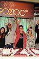 90210 cast celebrate 100 episode 16
